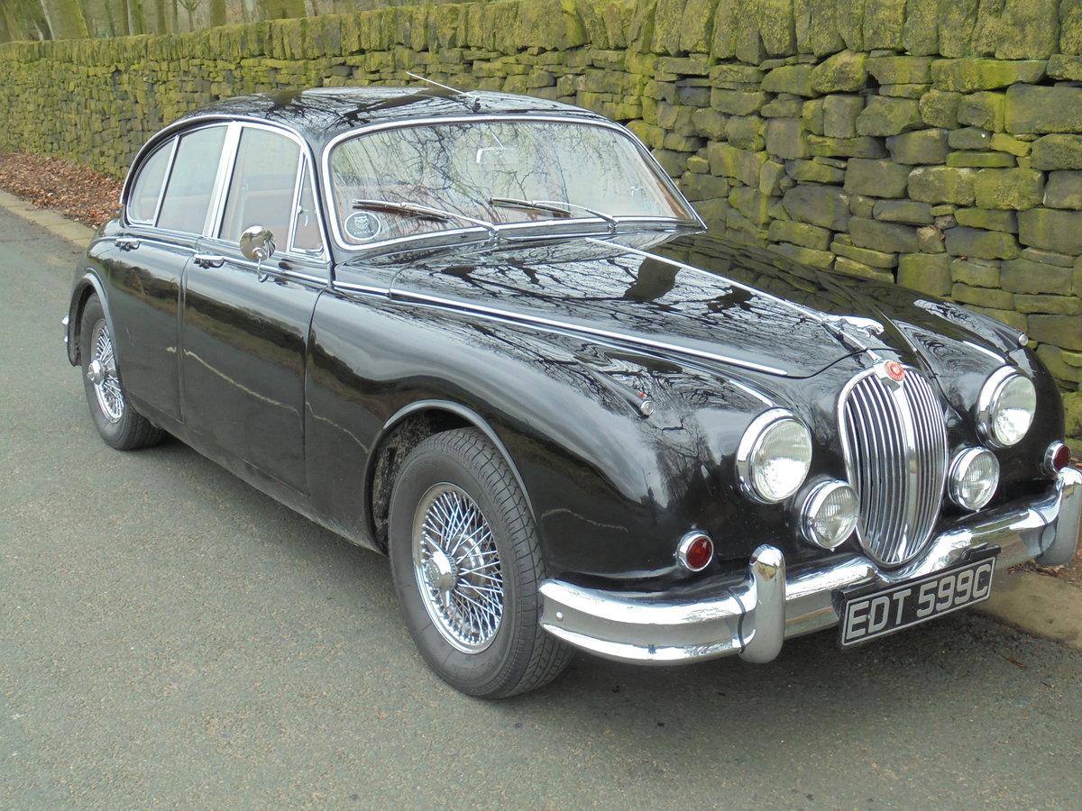 1965 Jaguar Mk2 3.4Ltr  For Sale For Sale (picture 2 of 6)