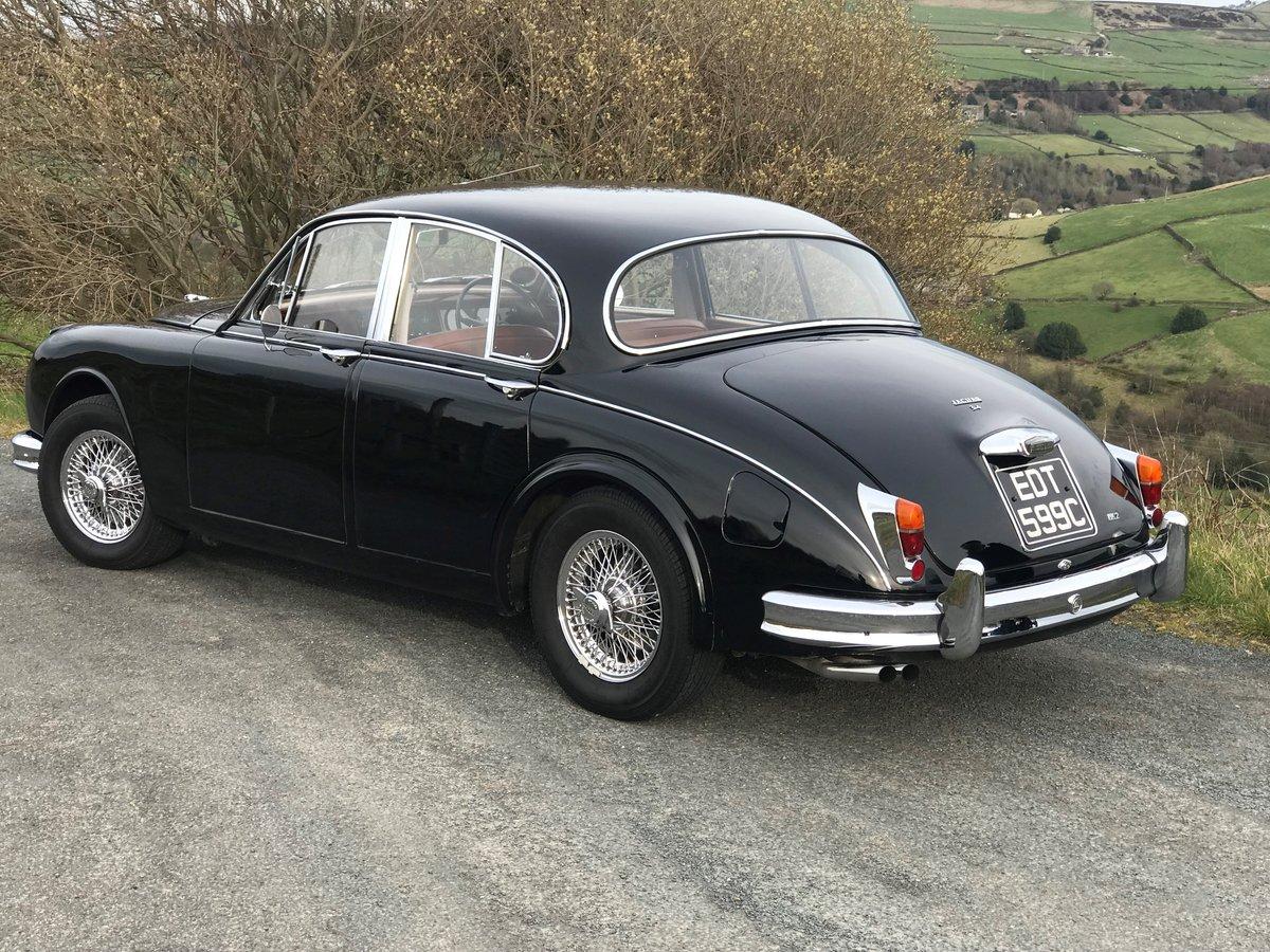 1965 Jaguar Mk2 3.4Ltr  For Sale For Sale (picture 4 of 6)