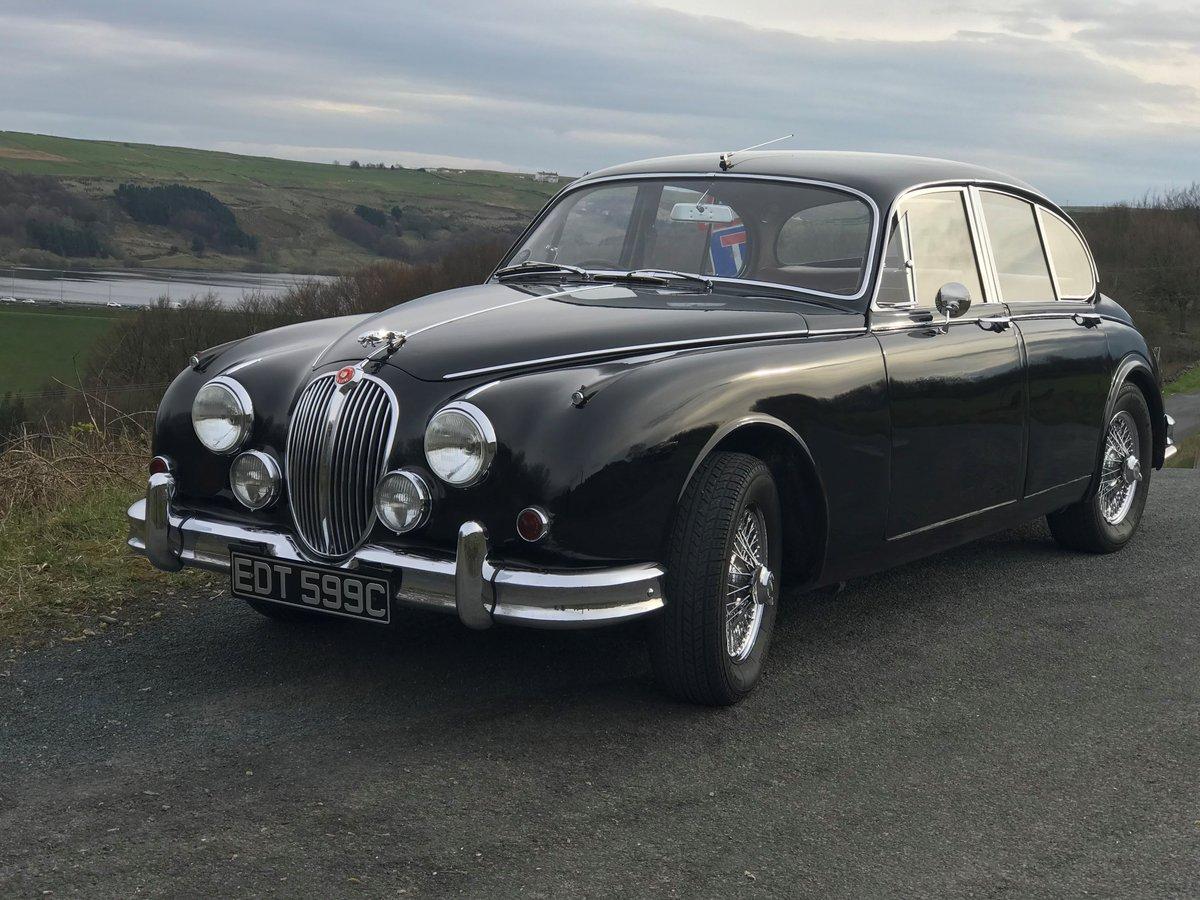 1965 Jaguar Mk2 3.4Ltr  For Sale For Sale (picture 3 of 6)