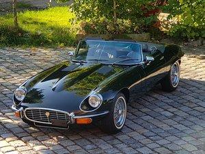1973 Jaguar E-Type V12 Roadster, phantastic condition! For Sale