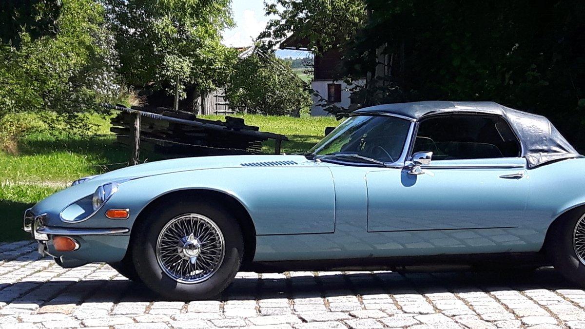 1973 Jaguar E-Type V12 Roadster, originally preserved For Sale (picture 5 of 6)