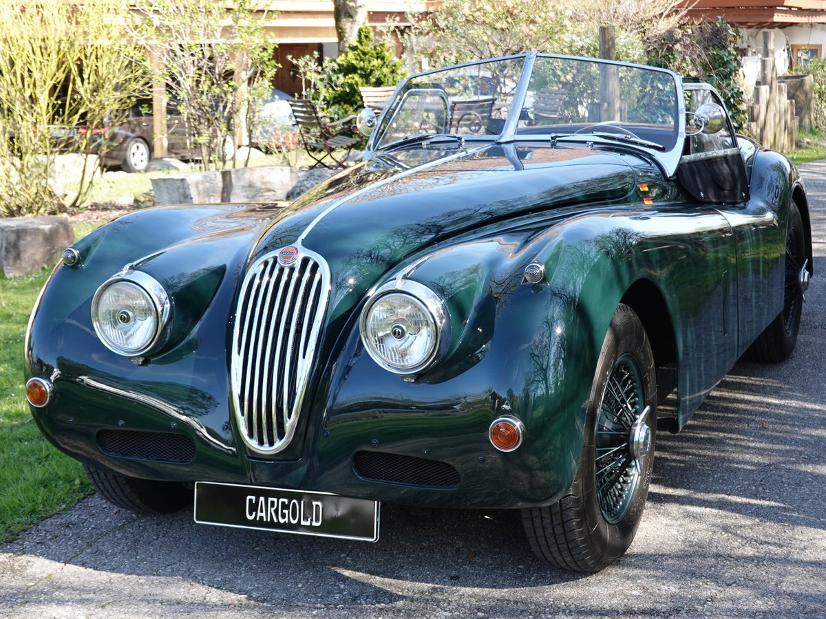 1956 Jaguar XK 140 SE OTS, - perfect -  For Sale (picture 2 of 6)