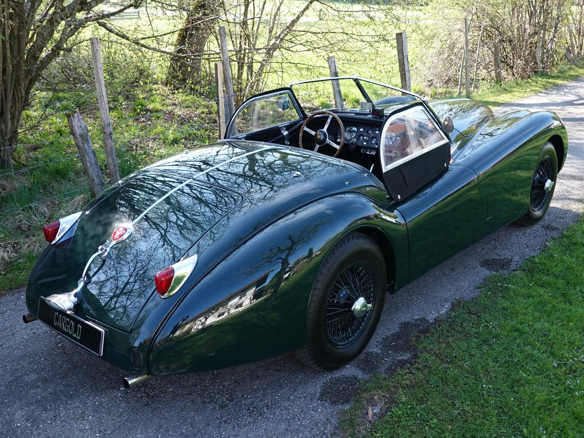 1956 Jaguar XK 140 SE OTS, - perfect -  For Sale (picture 4 of 6)