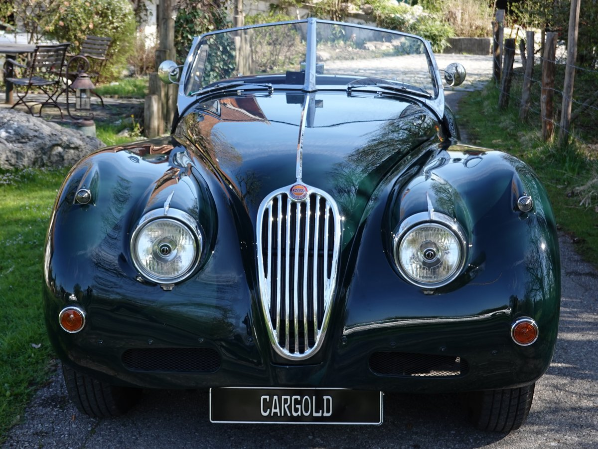 1956 Jaguar XK 140 SE OTS, - perfect -  For Sale (picture 6 of 6)