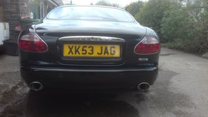 2004 super black XK8 including XK53JAG plate For Sale