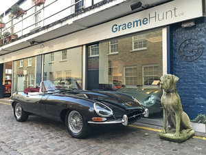Picture of 1962 Jaguar E Type 3.8 roadster - restored condition SOLD