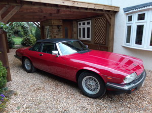 1986 RARE JAGUAR XJSC  For Sale