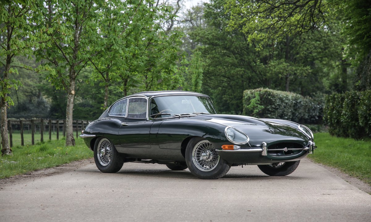 1965 Jaguar E-Type 4.2 Series 1 Fixed Head Coupe For Sale (picture 1 of 8)