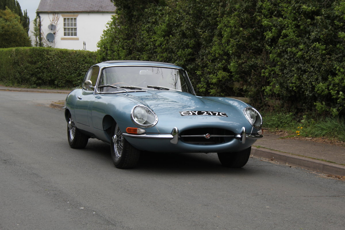 1964 Jaguar E-Type Series One 4.2 FHC - UK, Matching No's SOLD (picture 1 of 12)