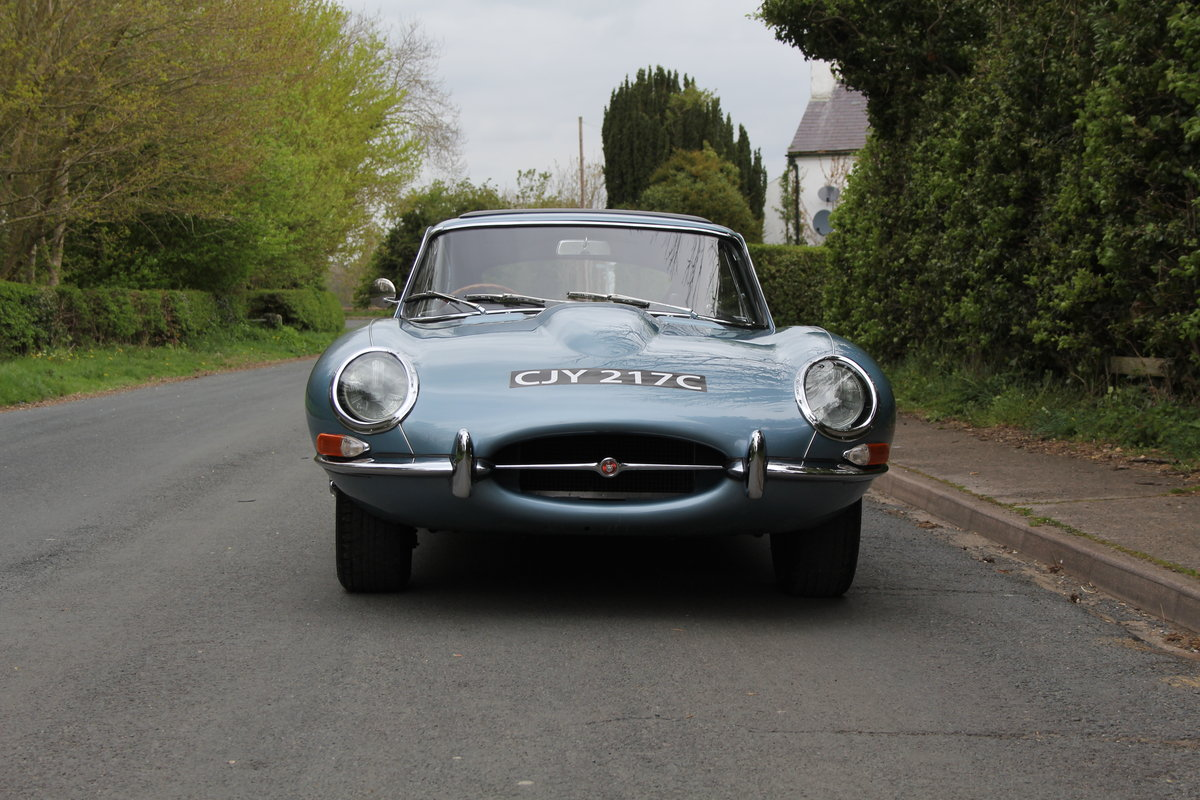 1964 Jaguar E-Type Series One 4.2 FHC - UK, Matching No's SOLD (picture 2 of 12)