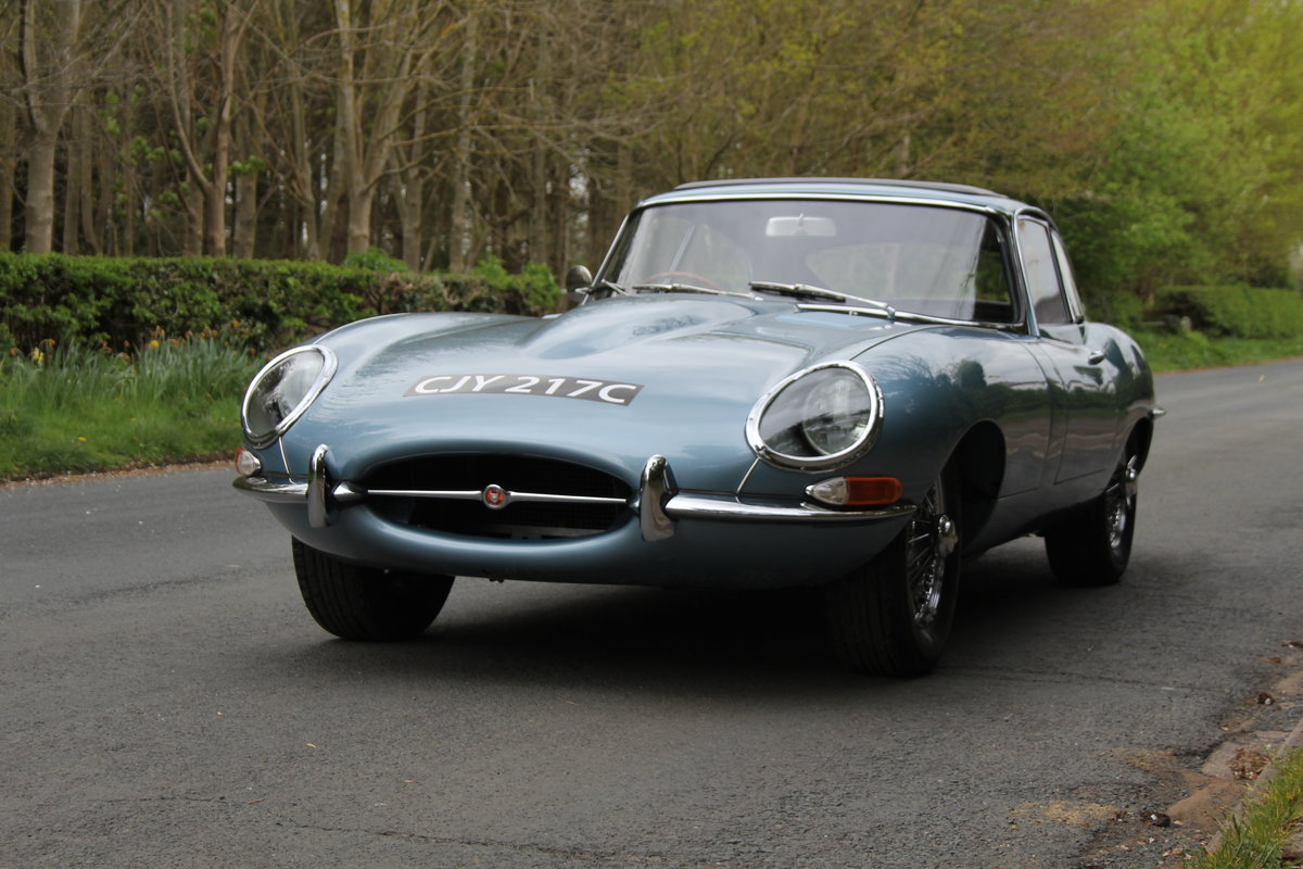 1964 Jaguar E-Type Series One 4.2 FHC - UK, Matching No's SOLD (picture 3 of 12)