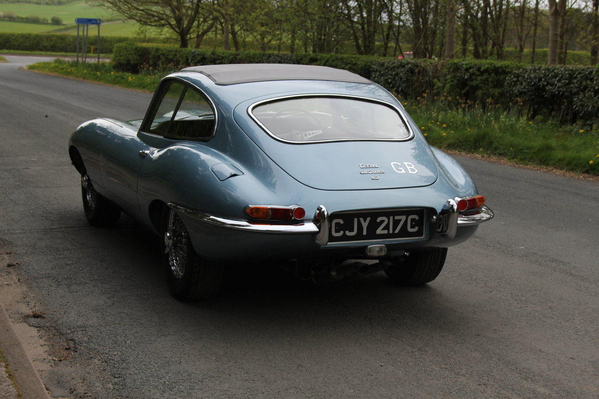 1964 Jaguar E-Type Series One 4.2 FHC - UK, Matching No's SOLD (picture 4 of 12)