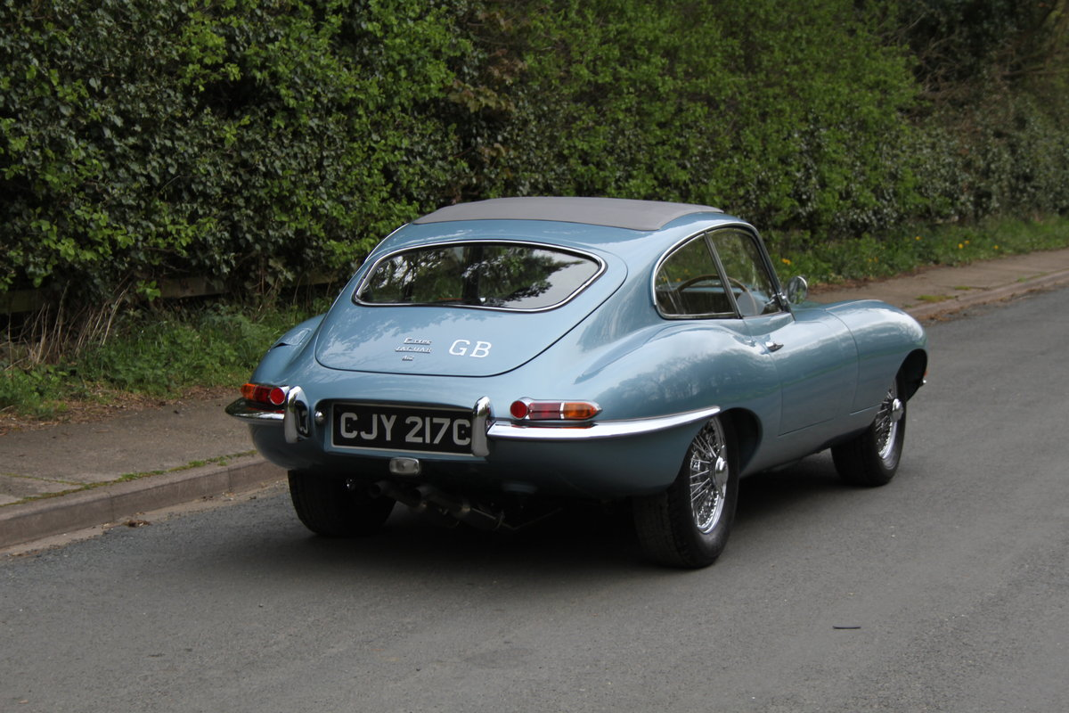 1964 Jaguar E-Type Series One 4.2 FHC - UK, Matching No's SOLD (picture 5 of 12)