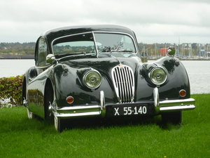 1955 Jaguar XK 140 FHC in mint condition For Sale