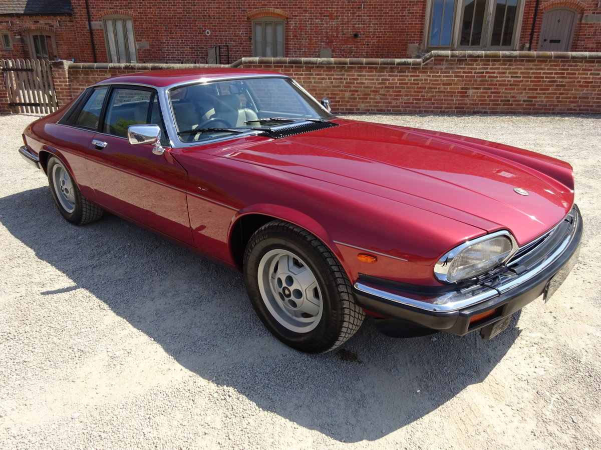 JAGUAR XJS HE AUTO V12 1987 COVERED 73K MILES FROM NEW  For Sale (picture 1 of 6)