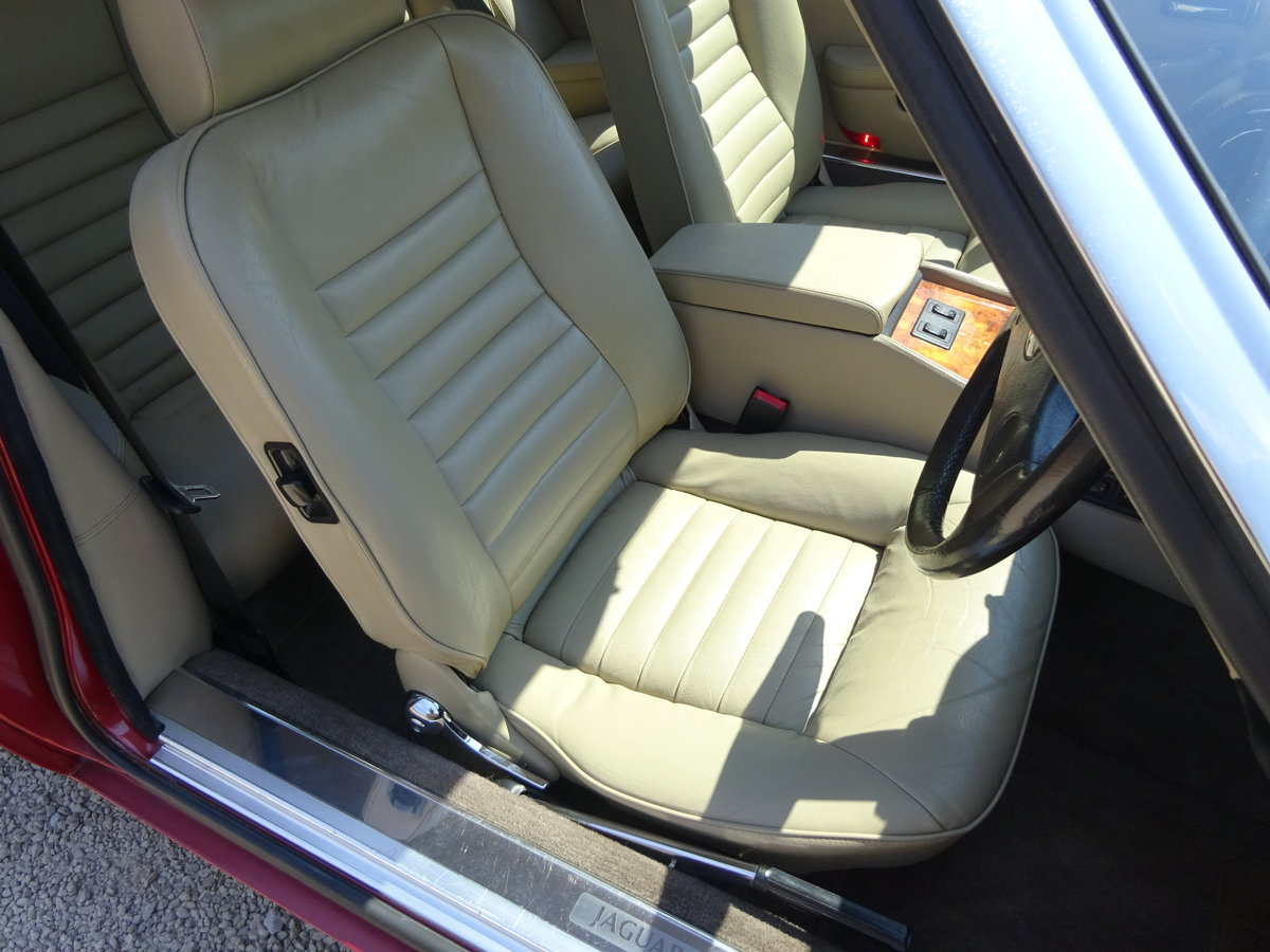 JAGUAR XJS HE AUTO V12 1987 COVERED 73K MILES FROM NEW  For Sale (picture 2 of 6)