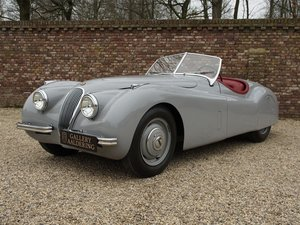 1952 Jaguar XK 120 3.4 OTS very early car, matching numbers, full For Sale