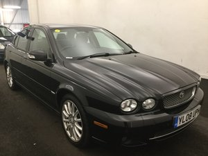 2008/08 Jaguar X-Type 2.2D S 4dr Auto 79270 miles FSH For Sale