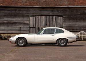 1973 Jaguar E-Type Series III Fixedhead Coupé For Sale by Auction