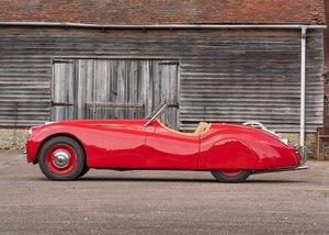 1950 Jaguar XK120 Roadster (3.4 litre) For Sale by Auction
