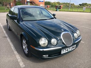 1999 Jaguar S-Type Rare 3.0 Manual Full MOT FSH For Sale