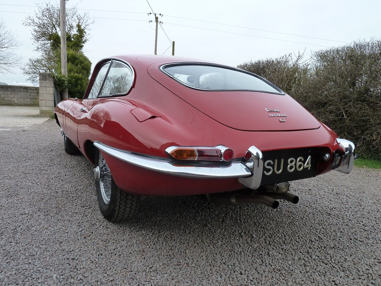 1966 S1 E Type 4.2 FHC For Sale (picture 2 of 6)