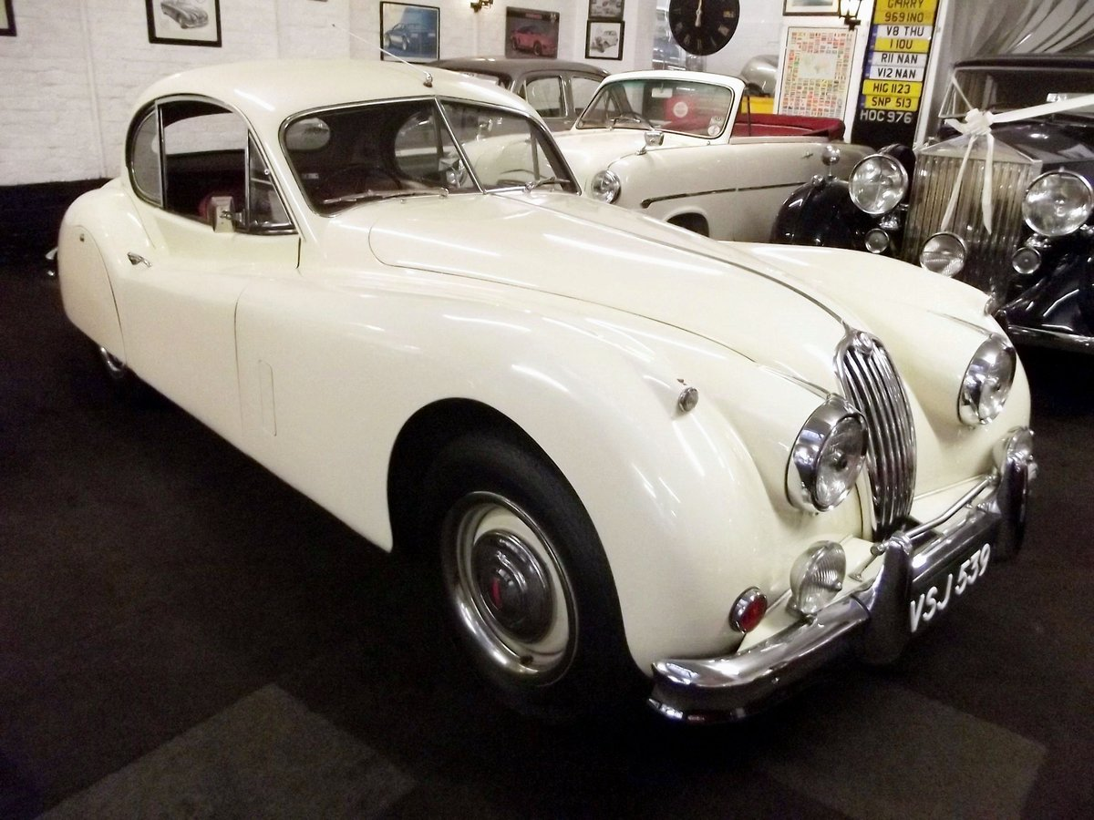 1956 JAGUAR XK140SE FIXED HEAD COUPE (manual with overdrive) For Sale (picture 1 of 6)