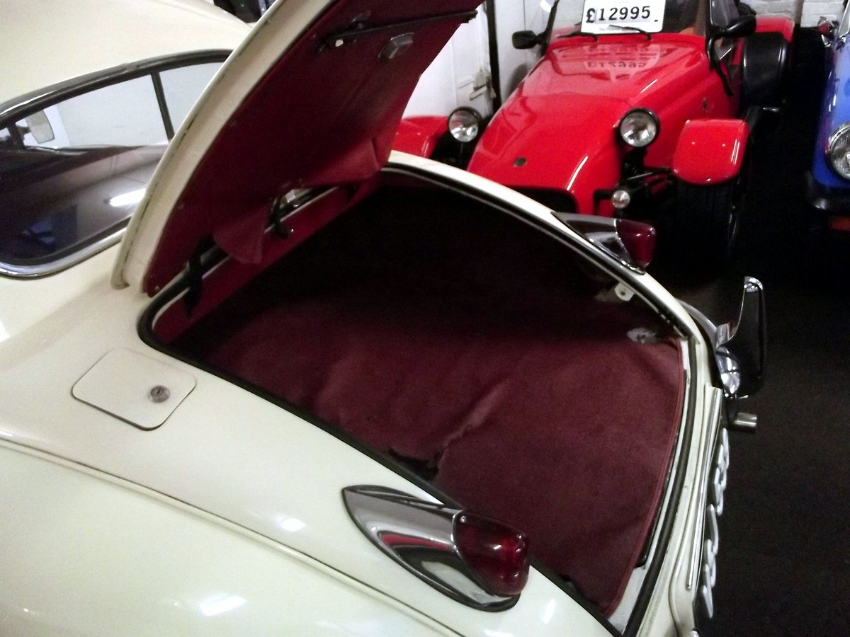 1956 JAGUAR XK140SE FIXED HEAD COUPE (manual with overdrive) For Sale (picture 6 of 6)