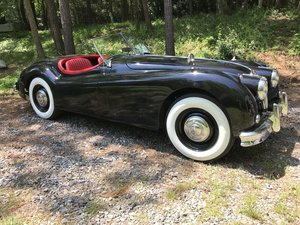 1956 Jaguar XK140 Roadster - LHD Competed in Period  For Sale