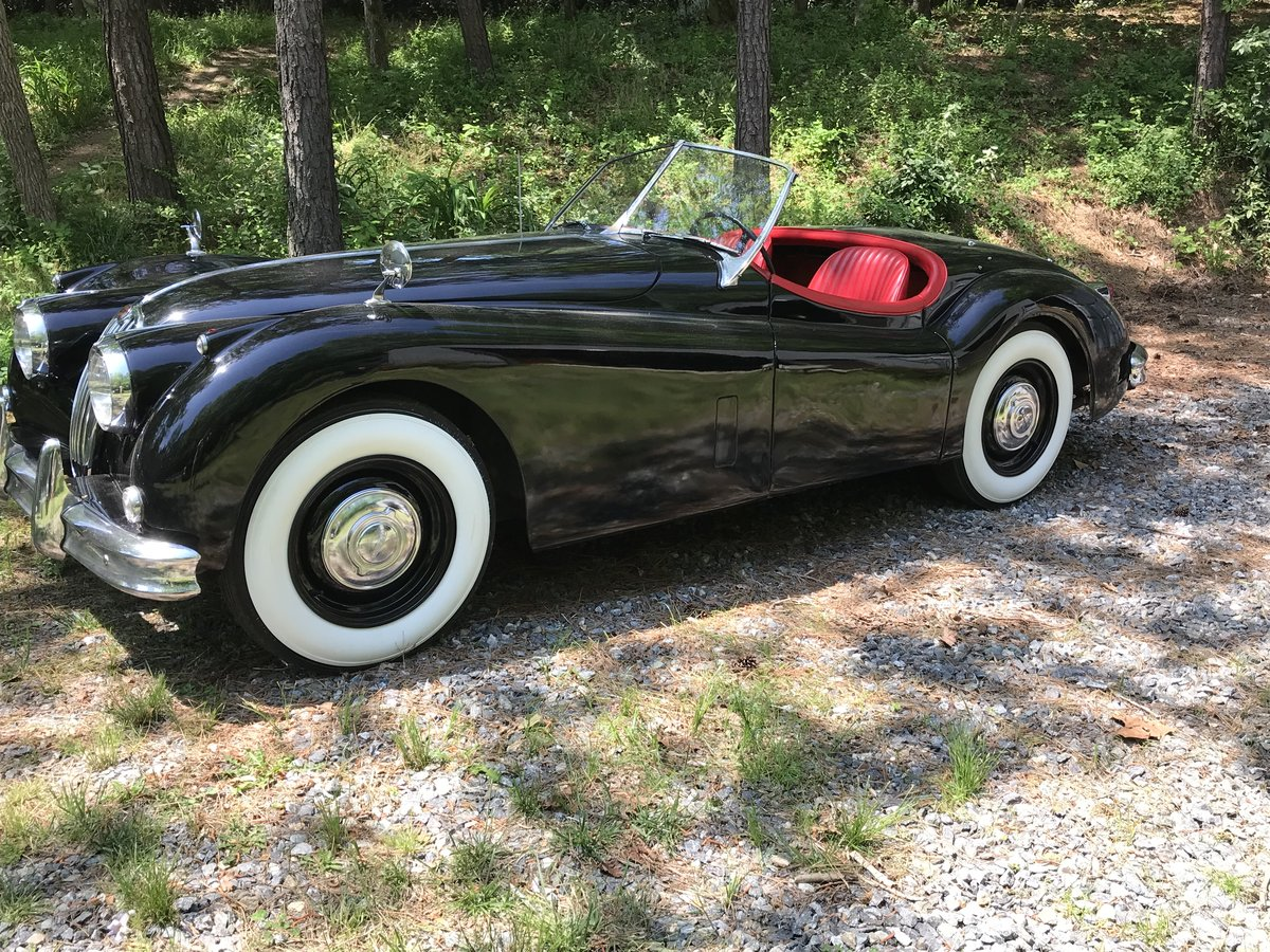 1956 Jaguar XK140 Roadster - LHD Competed in Period  For Sale (picture 2 of 6)