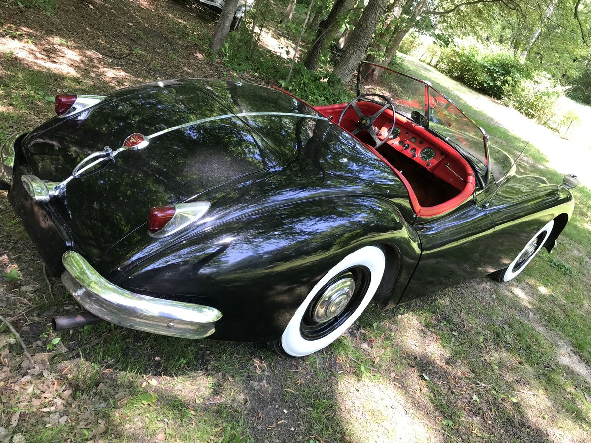 1956 Jaguar XK140 Roadster - LHD Competed in Period  For Sale (picture 4 of 6)