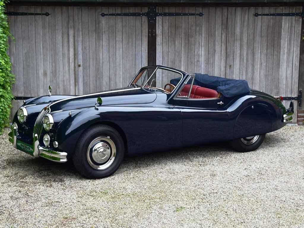 1957 Jaguar XK140 DHC. Restored and improved. For Sale (picture 1 of 6)