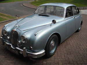Jaguar Mark 2 – 3.4 manual o/d. 1964. For Sale