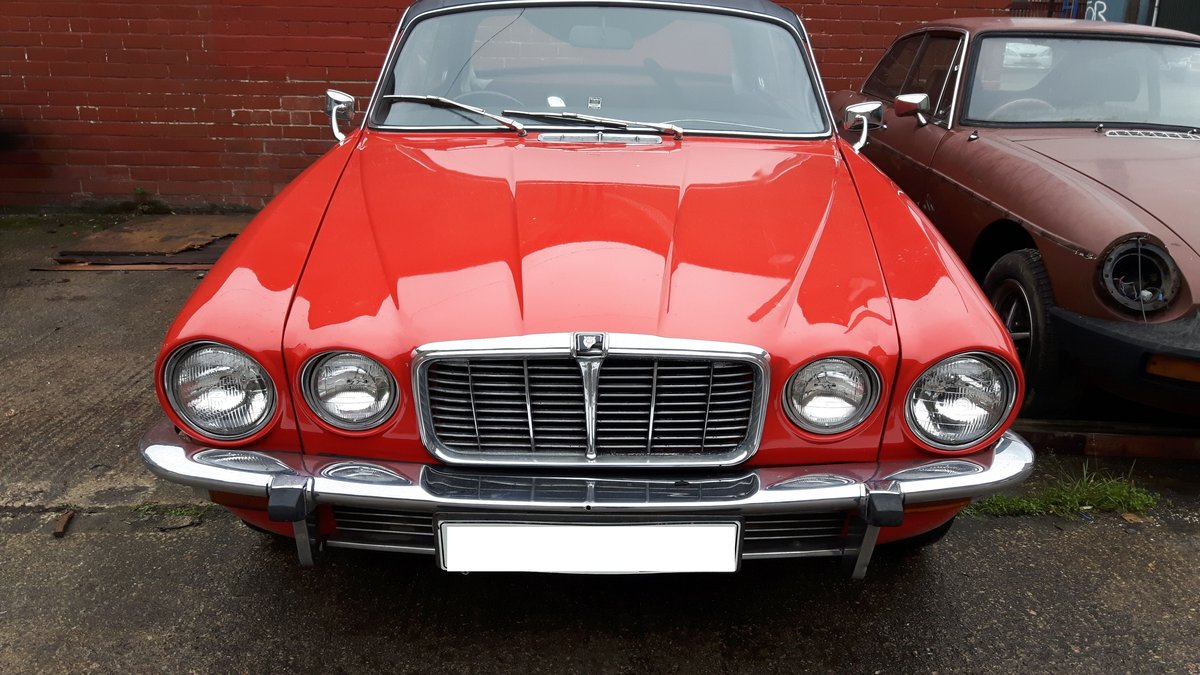 1976 Jaguar XJC 4.2 Coupe (Fully Restored) SOLD (picture 1 of 3)