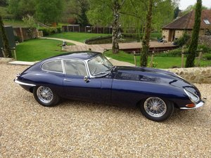 1962 Jaguar E-Type Series 1 Coupe - £170,000 restoration For Sale