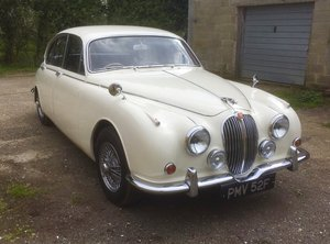 1967 Jaguar 3.4 Mk2 MOD Old English White For Sale