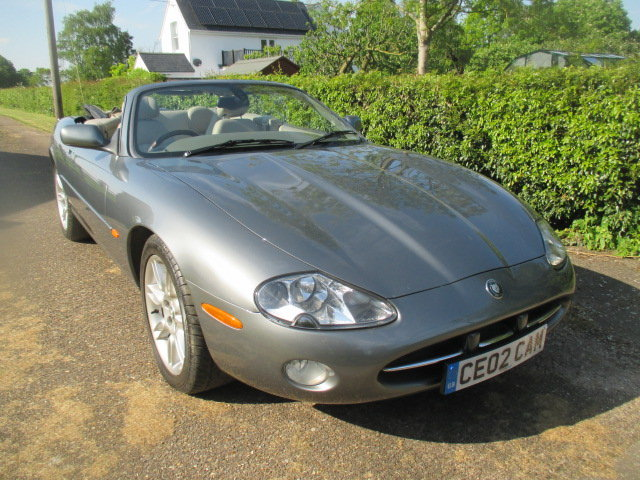 2002 Quartz Grey XK8 Convertible very low mileage superb conditio For Sale (picture 1 of 6)