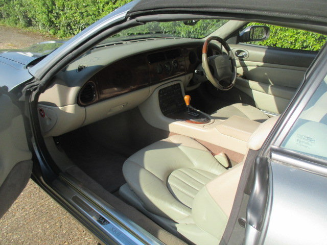 2002 Quartz Grey XK8 Convertible very low mileage superb conditio For Sale (picture 2 of 6)