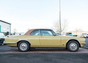 1977 Jaguar XJC 4.2 Pale Primrose Coupe