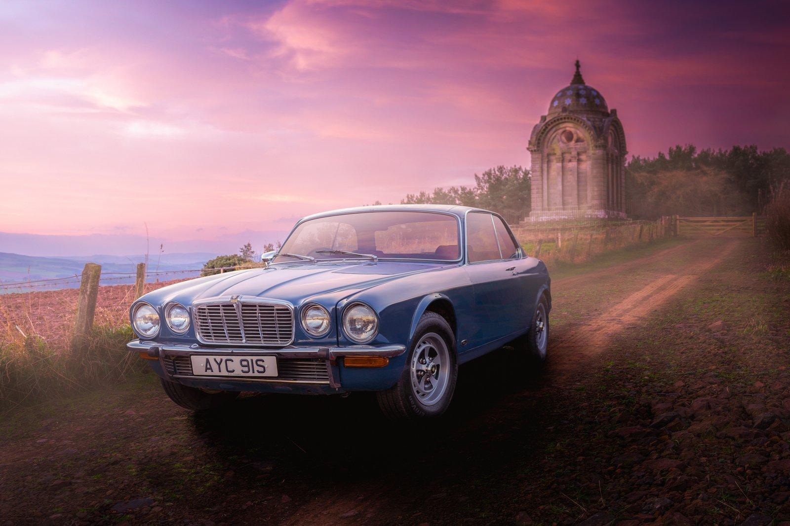 1978 Jaguar XJC 4.2 Squadron Blue Coupe For Sale (picture 2 of 6)