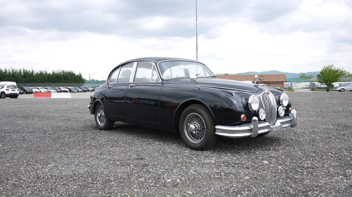 1963 Jaguar Mark II Saloon For Sale by Auction (picture 1 of 3)