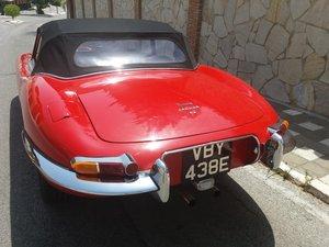 1967 jaguar roadster lnd in spain For Sale