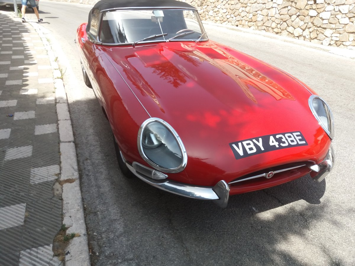 1967 jaguar roadster lnd in spain For Sale (picture 4 of 5)