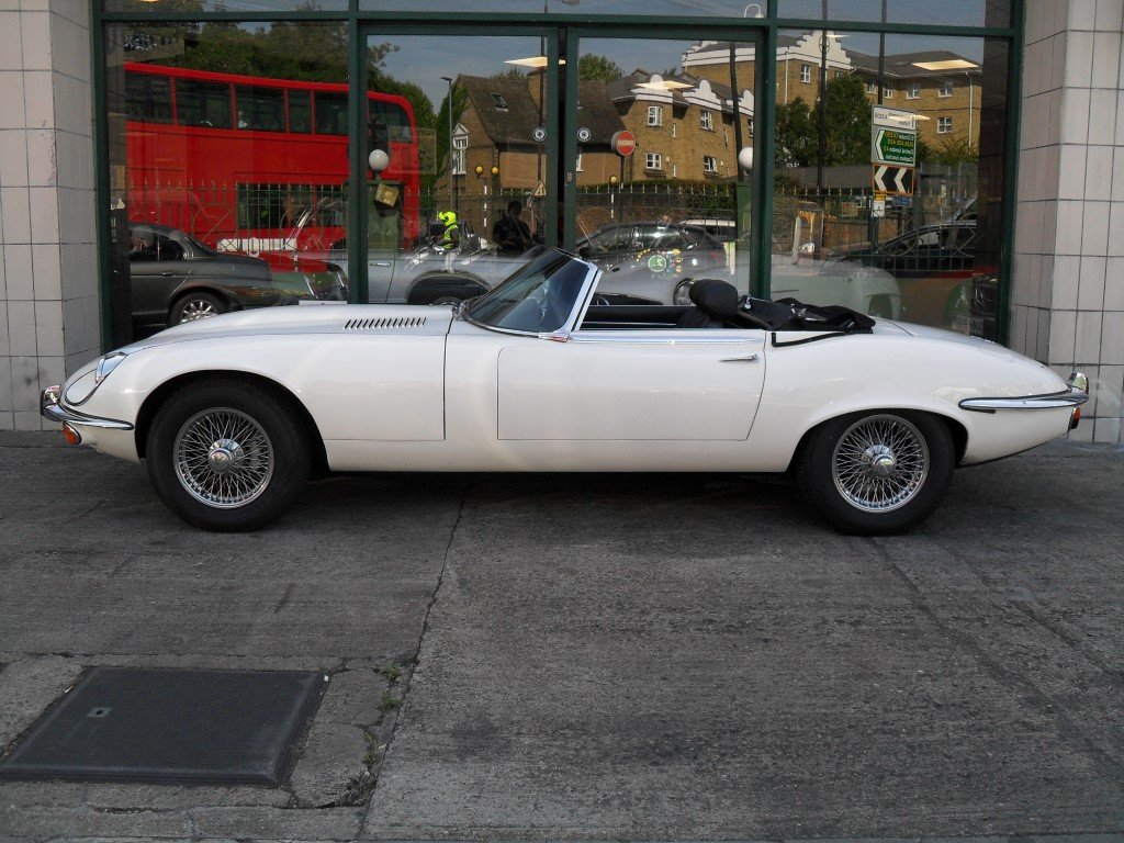 1972 Jaguar E Type V12 Manual For Sale (picture 2 of 5)
