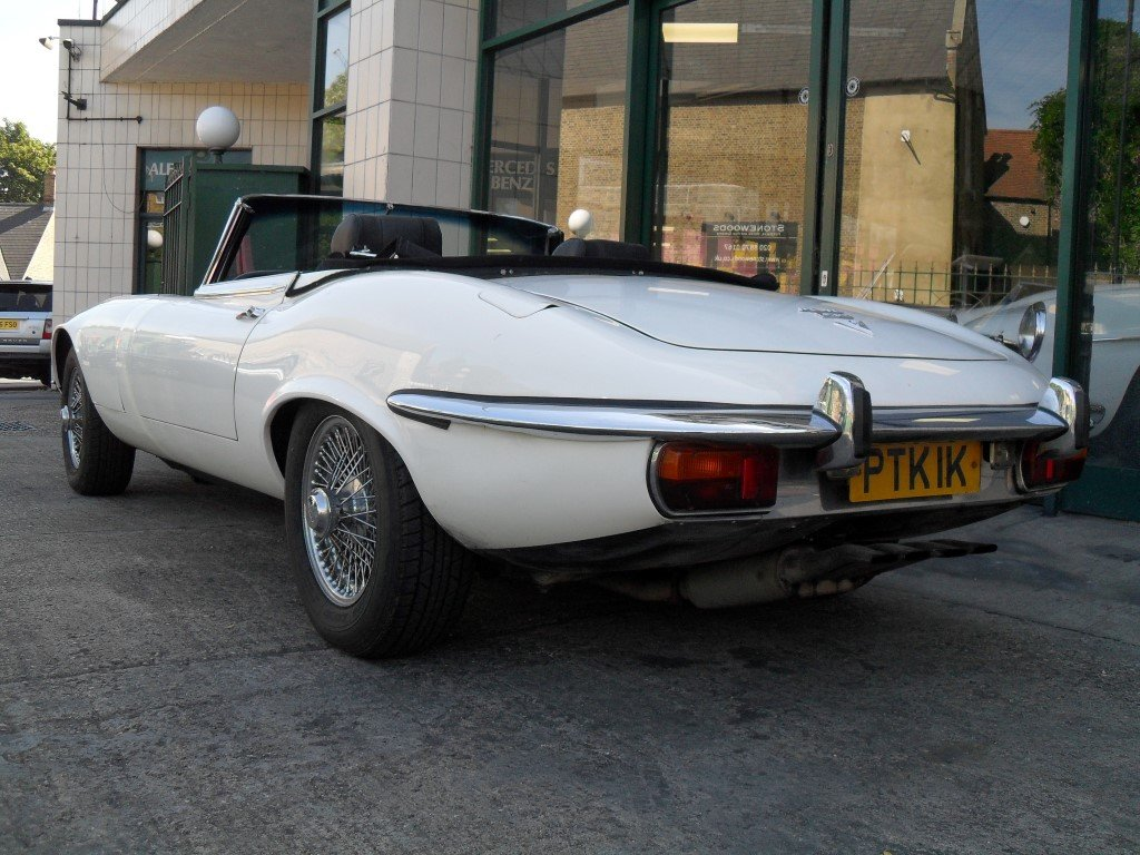 1972 Jaguar E Type V12 Manual For Sale (picture 3 of 5)