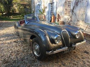 1953 Beautiful restored XK 120 roadster For Sale