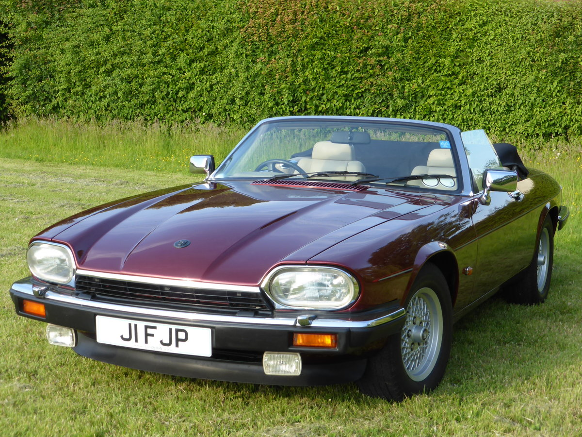 1992 Jaguar XJS HE V12 5.3 Convertible For Sale (picture 1 of 6)