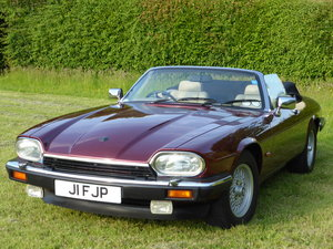 1992 Jaguar XJS HE V12 5.3 Convertible For Sale