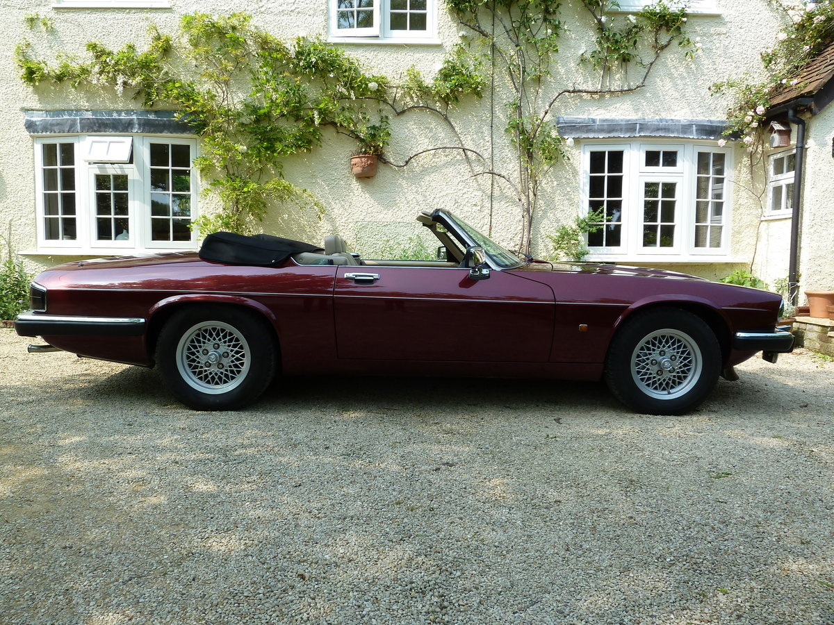 1992 Jaguar XJS HE V12 5.3 Convertible For Sale (picture 2 of 6)
