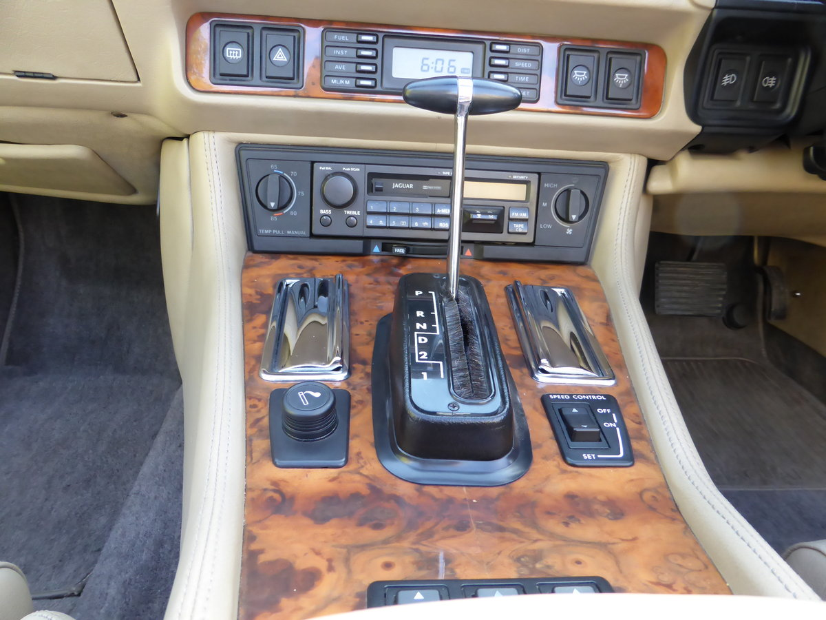 1992 Jaguar XJS HE V12 5.3 Convertible For Sale (picture 4 of 6)